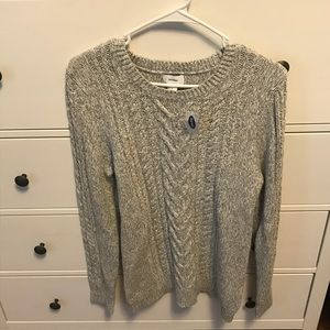 Old Navy crew neck marbled sweater
